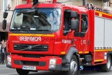 Incendiu la o afumătoare, în Cluj-Napoca
