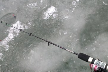Concurs de pescuit la copca pe lacul de la Sacalaia