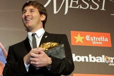 Messi desemnat pentru a patra oara consecutiv Balonul de Aur