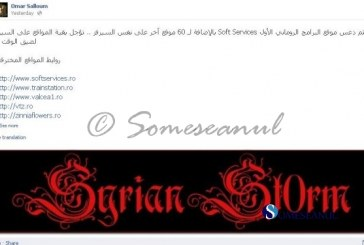 Zeci de site-uri din România doborâte de hackerul Syrian St0rm
