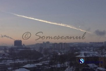 Ploaie de meteoriti in Rusia   VIDEO