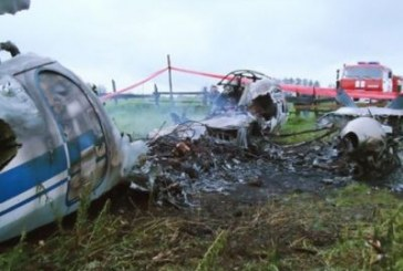 VIDEO: Tragedie in fotbal! Un avion cu suporteri s-a prabusit la Donetk si cinci persoane au murit