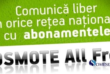 Cosmote România lansează abonamentele All Free