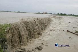 Cod galben de inundații la Dej și în toată zona de nord-vest a țării