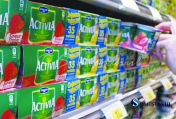 Zeci de tone de produse lactate retrase de pe piață de Danone