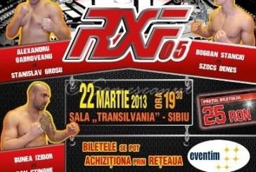 """Izidor Bunea """"Spartanul"""" a câștigat prin KO la prima participare în Romanian Xtreme Fighting FOTO"""