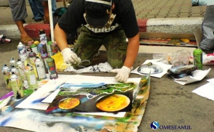 Un tânăr din Dej a uimit cu tablourile sale la Românii au Talent
