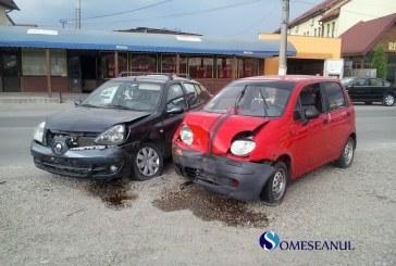 FOTO/VIDEO | Accident rutier în Gherla