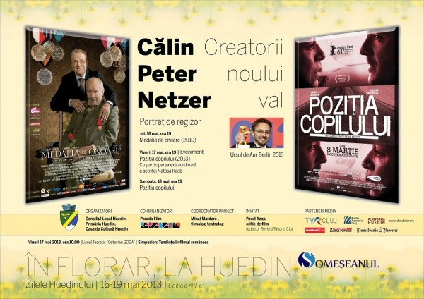 Afis Zilele Huedinului - Calin Peter Netzer