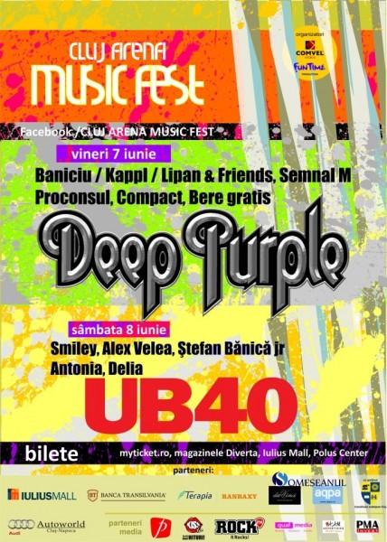 Deep Purple UB40 - Cluj