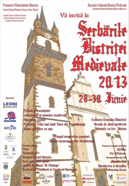 Serbarile Bistritei Medievale 2013