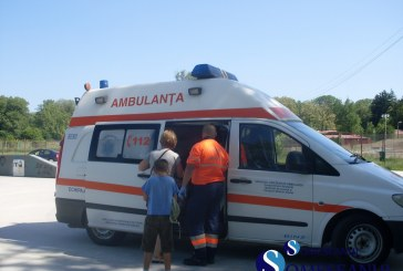 EXCLUSIV | Copil ranit, dupa ce a cazut de pe bicicleta FOTO/VIDEO