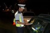Șofer reținut pentru că a condus beat și cu permisul suspendat