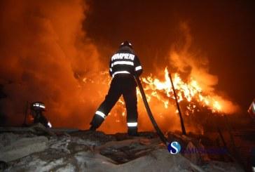 Intervenție dificilă a pompierilor sălăjeni în Șimleu Silvaniei