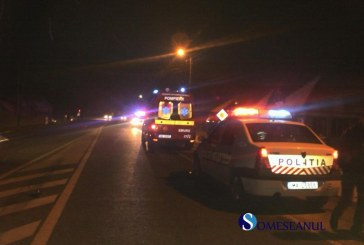 Un șofer beat a ajuns cu mașina într-o râpă. Trei persoane rănite