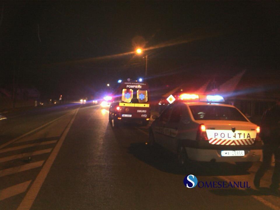 masina politie smurd noapte