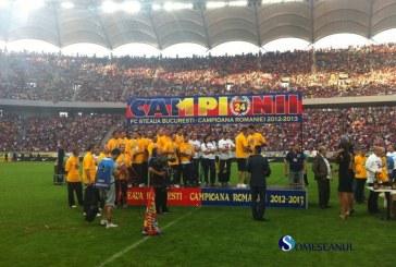 Steaua a sărbătorit pe Arena Națională titlul de campioană – FOTO