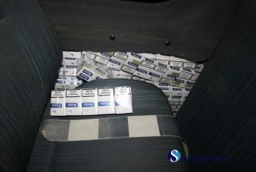 Ţigări de contrabandă confiscate în judeţul Sălaj