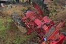 Un bărbat din Unguraș a murit după un accident cu tractorul