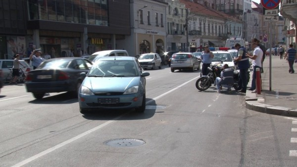 accident central cluj