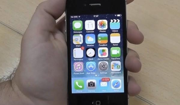 apple iphone ios7