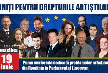 Connect-R, Smiley, Sofia Vicoveanca, Stela Popescu vor fi prezenţi în Parlamentul European la o dezbatere privind statutul artiştilor