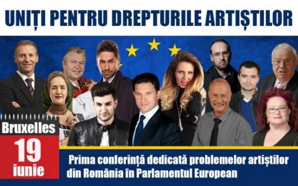 artisti parlamentul european