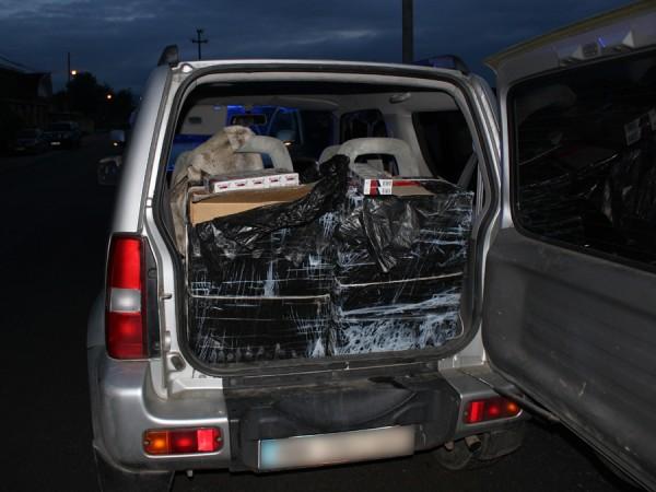 autoturism tigari confiscate