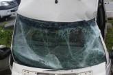 Un microbuz s-a răsturnat într-o râpă pe DN 17C