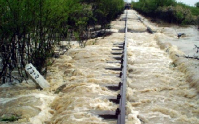 inundatii feroviarul
