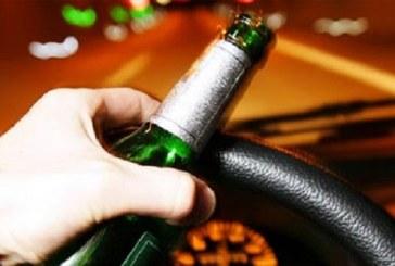 Polițiștii au depistat și reținut un șofer cu o alcoolemie de peste 1,60 mg/l alcool pur în aerul expirat