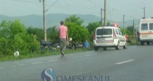 someseanul-accident politie ambulanta masina sant