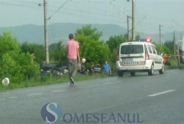 A ajuns cu mașina în șanț. Șoferul a fost grav rănit