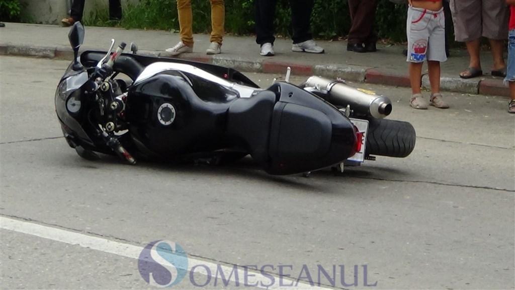 Plimbare mortala pentru un motociclist