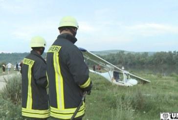 Un avion a luat foc după o aterizare ratată VIDEO