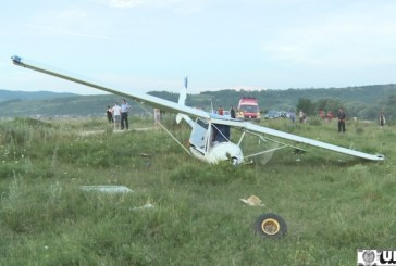 Incident aviatic langa Alba Iulia