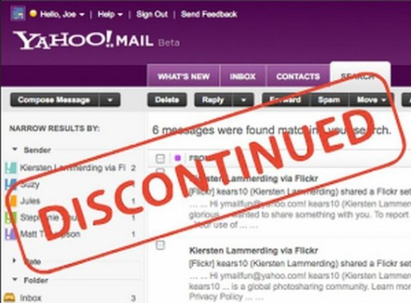 ymail yahoo new version