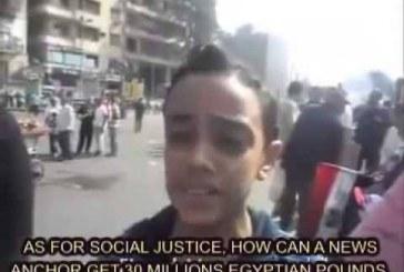 VIDEO IMPRESIONANT | Criza din Egipt explicată de un băiat de 12 ani