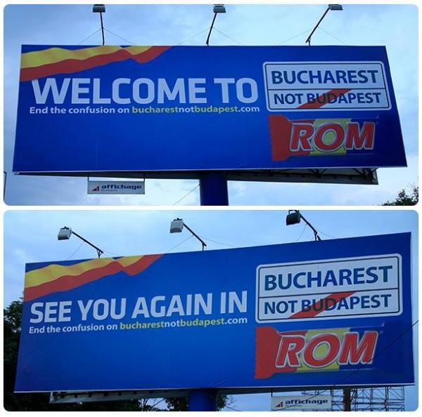 bucharest not budapest