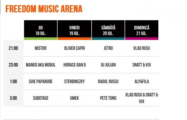 peninsula freedom music arena