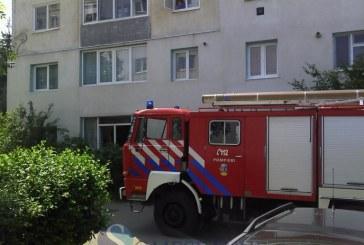 Un aparat de aer condiționat, cauza unui incendiu în Baia Mare
