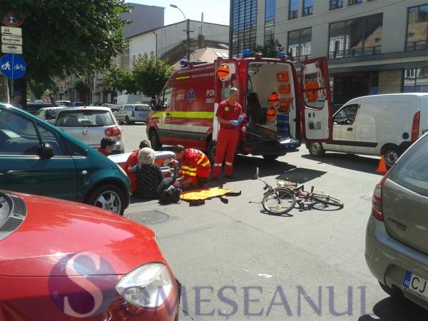someseanul-accident biciclist smurd (2)