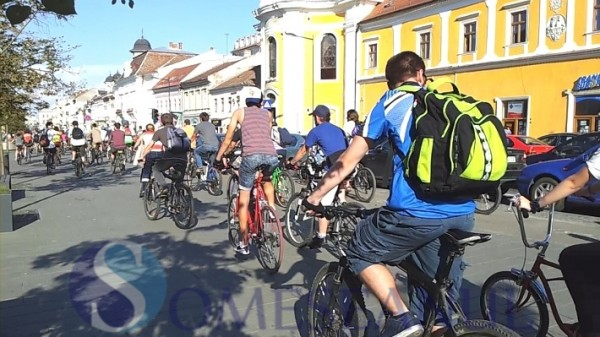 someseanul-critical mass marsul biciclistilor Cluj