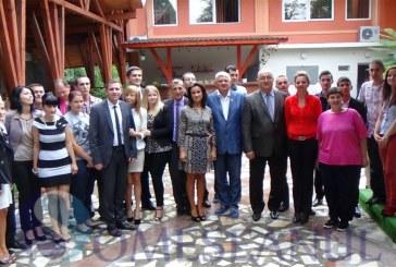 Tinerii social-democraţi din Dej şi-au ales un nou preşedinte – FOTO/VIDEO