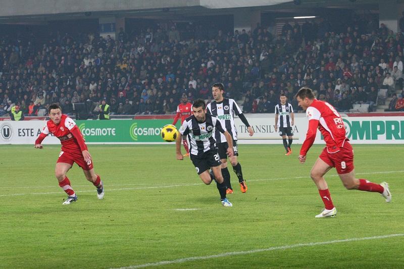 Dinamo - U Cluj fotbal Liga 1