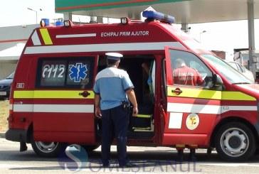 O persoana a fost ranita dupa ce o autobasculanta s-a raturnat in Mirsid