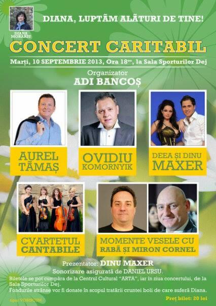 concert caritabil diana morariu