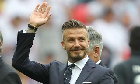 David Beckham at Wembley