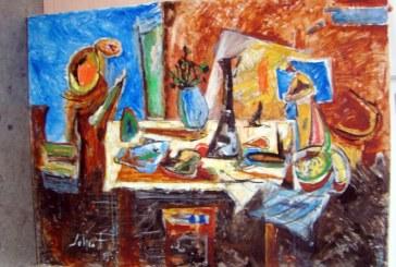 Zeci de tablouri si schite ale pictorului Marcel Iancu, depistate pe Aeroportul Henri Coanda