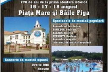 Zilele Orașului Beclean – Program și concerte